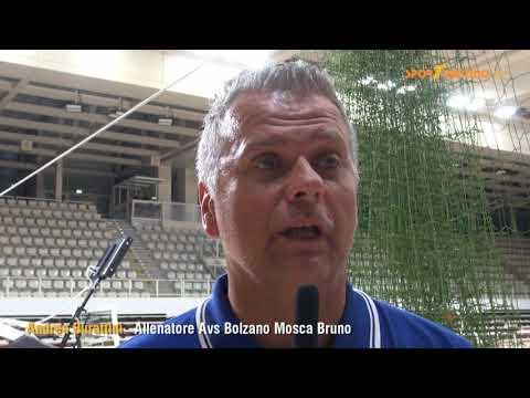 Copertina video Andrea Burattini, allenatore dell'Avs Bolzano