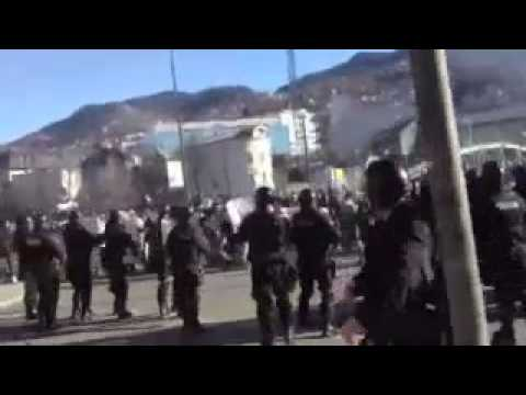 Protests In Bosnia Escalate