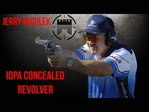 IDPA concealed revolver tutorial with Jerry Miculek