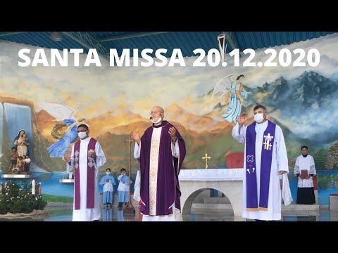 Santa Missa | 20.12.2020 | Domingo | Padre José Sometti | ANSPAZ