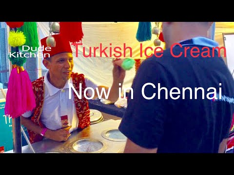 Funny Turkish Ice Cream Tricks | Now in Chennai | Zomoland Phoenix Mall |  Dude Kitchen