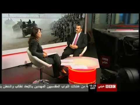 زياد الشيخلي في قناة بي بي سي