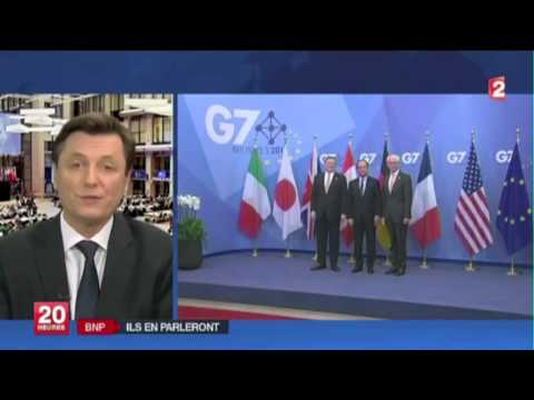 BNP Paribas : François Hollande et Barack Obama en parleront