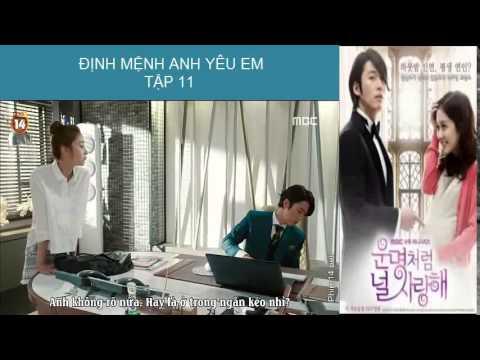 [Phim Hàn Quốc] Định mệnh anh yêu em Tập 11 part 4
