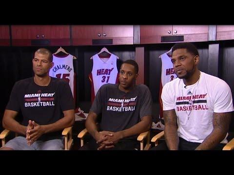 May 26, 2014 - ESPN - Michael Wilbon Interviews Miami Heat's Haslem, Chalmers, & Battier