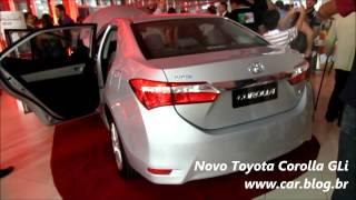 Novo Corolla GLi 2015 Automático Www.car.blog.br