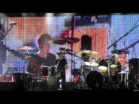 Queen + Adam Lambert - Drum Solo - Wroclaw 2012 HD