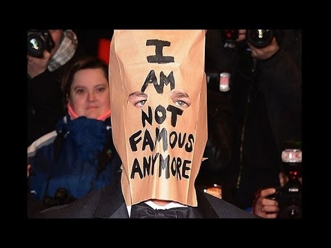 Shia LaBeouf wears a paper bag over his head at premiere