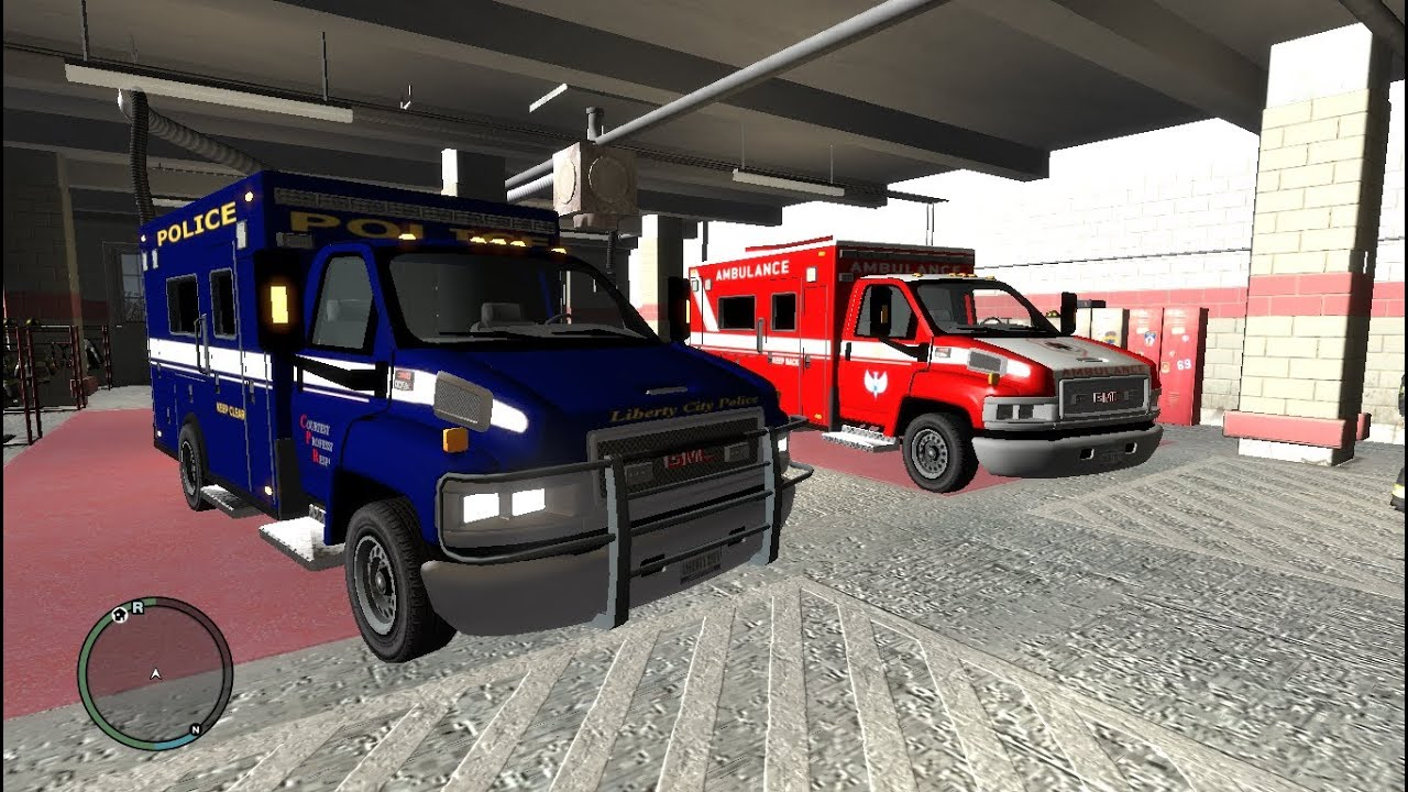 Topkick ambulance amp police swat vans wip pc games youtube