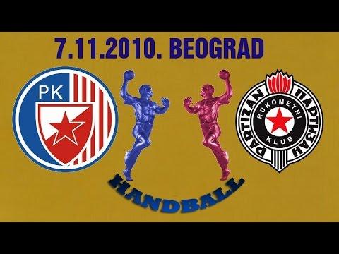 RK Crvena Zvezda – RK Partizan (07.11.2010.)
