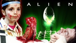 ALIEN - CHEST SCENE - Kids Swede Movies