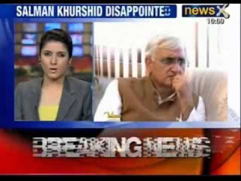 Salman Khurshid: I am disappointed, wanted our PM to visit Jaffna - News X