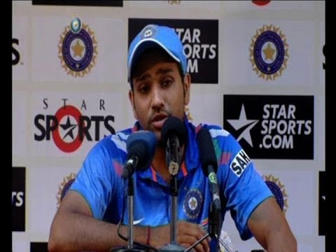 Rohit Sharma talks about 209 runs vs Australia