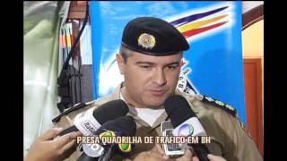 Preso suspeitos de impor toque de recolher a comerciantes na Regi�o Nordeste de BH