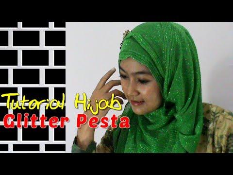 Tutorial Hijab Glitter Pesta Kebaya Modern dan Simple by Anna #149