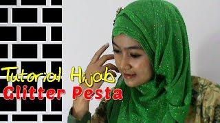 Tutorial Hijab Glitter Pesta Kebaya Modern Dan Simple By