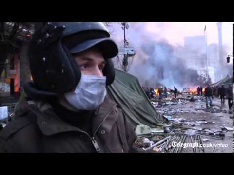 Ukraine protests: this is the last war