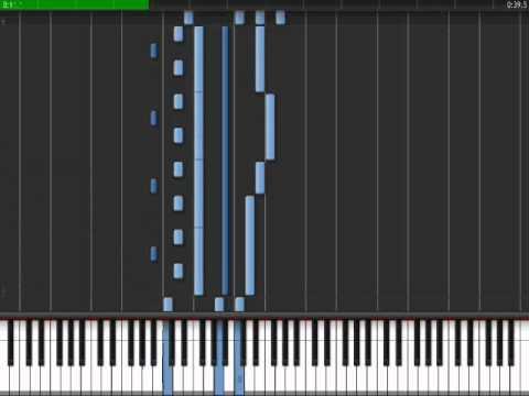 Gravity Falls Intro Piano Synthesia