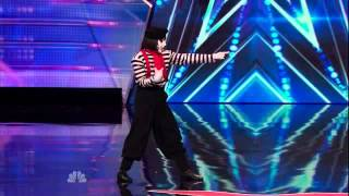 America's Got Talent 2014 Auditions Larry The Mime