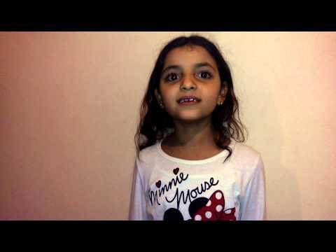 طفلة مغربية تغني تركي  petite fille chante turque