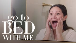Marianna Hewitt's Nighttime Skin Care Routine | Go To Bed With Me | Harper's BAZAAR