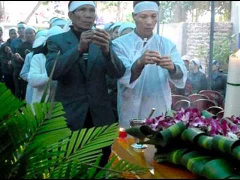 Lễ tang cụ Bùi Thị Tin -p1 phat tang
