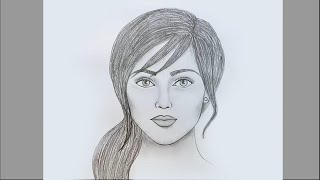 How to draw face for Beginners/ EASY WAY TO DRAW A REALISTIC FACE