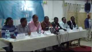 African Refugees Press Conference In Tel AvivStriking