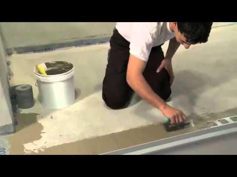 Massetto impermeabilizzante – Frusta per impastare cemento