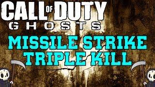 Call of Duty - Ghosts: Triple Kill with Missile Strike on Siege (Field Orders KEM Strike)