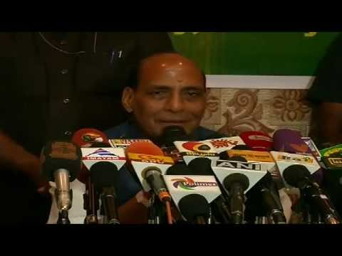 Shri Rajnath Singh Press Conference in Trichy, Tamil Nadu 18th April 2014