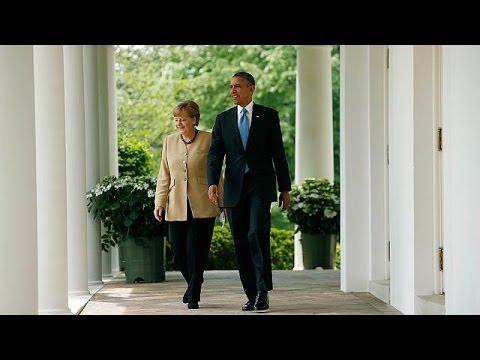 Ukraine-Krise: Merkel und Obama machen Sanktionen gegen Russland von Präsidentschaftswahlen abhängig
