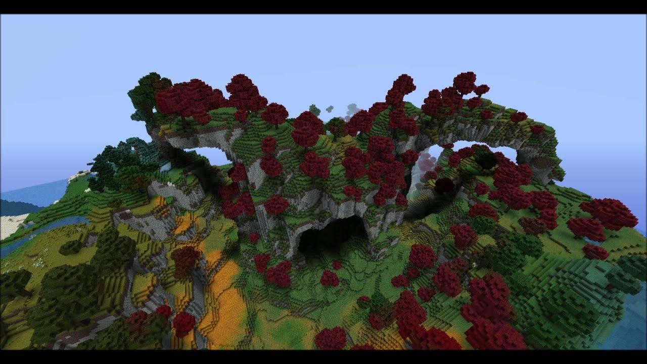Minecraft Terraforming 2      The Phenix Wood  Voxel Sniper
