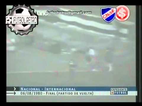Nacional vs Internacional  Final Libertadores 1980 - Fox Sports