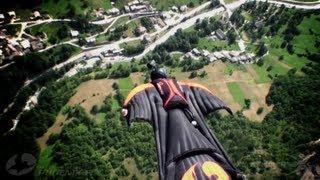 Wingsuit jump