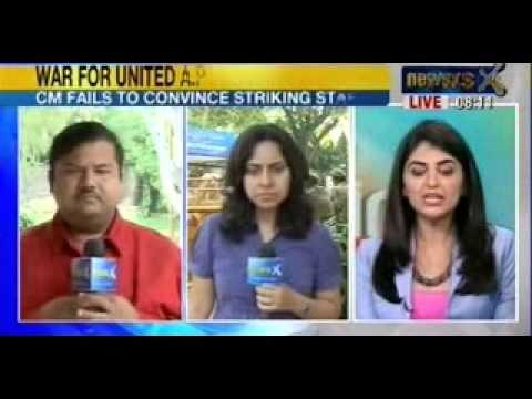 NewsX : 'Kiran Kumar Reddy wanted to use me to stall Telangana plan', says V Dinesh Reddy