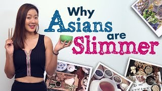 Why Asians Are Slimmer (9 Tips for Weight Loss) | Joanna Soh