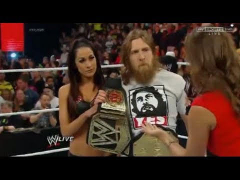 WWE Raw Review 4/22/14 Kane Kills Daniel Bryan Highlights