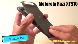 Como Cambiar La Bateria Al Motorola Razr XT910