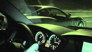 BMW M5 E60 racing a modified Ferrari 550 Maranello videos