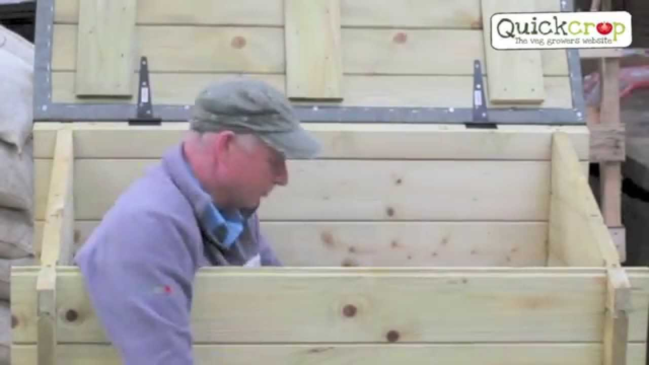 Extra Strong Heavy Duty Decking Wpc : Garden chest heavy duty outdoor storage box youtube
