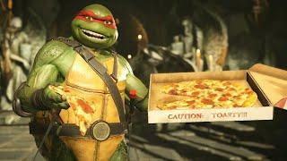 15 Minutes of Injustice 2 Teenage Mutant Ninja Turtles Gameplay