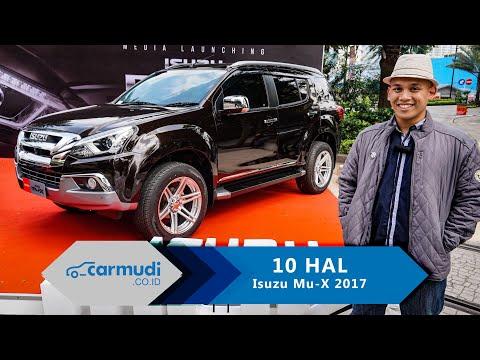 Isuzu mu-X 2017 Indonesia (Facelift) - 10 Hal yang Perlu Diketahui