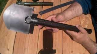 The Ultimate Compact Survival Shovel?