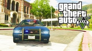 GTA 5 Secret Cars Unmarked Police Cruiser, Police Bike