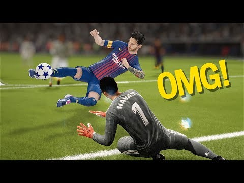 FIFA 18 TOP 10 BEST GOALS! Ft. SCORPION KICKS, RABONA ,NUTMEGS,