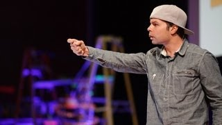 "Ted Talks: Lemon Andersen Performs ""Please don't Take My Air Jordans"""