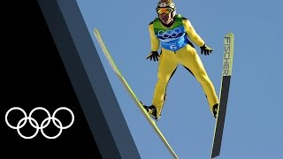 Top 3 Olympic Ski Jumping appearances