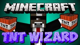Minecraft TNT WIZARDS Server Minigame