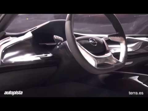 Opel Monza, en el Sal�n de Frankfurt